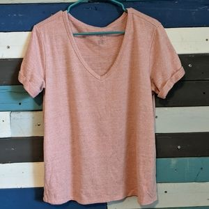 American Eagle Outfitters Plush Pink T-Shirt